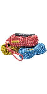 2021 Connelly Deluxe 2 Person Tube Rope 86014020 - Red