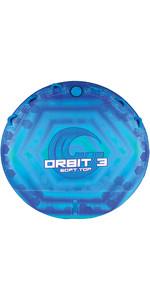 2021 Connelly Orbit 3 Ultra Plush Concave Deck Tube 67180005 - Blue