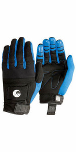 2021 Connelly Promo Amara Fabric Gloves 67176020 - Black / Blue
