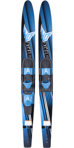 2021 HO Sports Excel Combos Waterskis H19BL - Blue