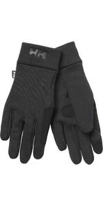 2021 Helly Hansen Fleece Touch Glove Liner 67332 - Black