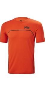 2021 Helly Hansen  Mens HP Foil Ocean T-Shirt 34160 - Cherry Tomato