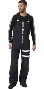 2021 Helly Hansen Mens Salt Coastal Bib 30204 - Navy