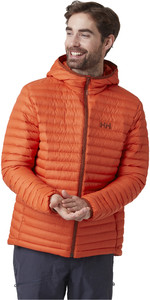 2021 Helly Hansen Mens Sirdal Hooded Insulator Jacket 62989 - Patrol Orange