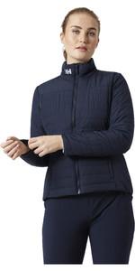 2021 Helly Hansen Womens Crew Insulator 2.0 Jacket 30239 - Navy