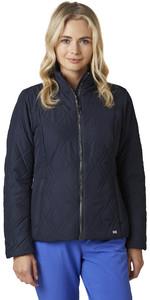 2021 Helly Hansen Womens Crew Insulator Jacket 34071 - Navy