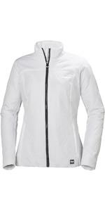 2021 Helly Hansen Womens Crew Insulator Jacket 34071 - White