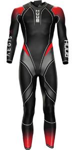 2021 Huub Mens Aegis X Wetsuit AEGX35 - Red