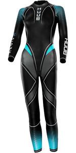 2021 Huub Womens Aegis X 3:3 Wetsuit AEGX33W - Aqua
