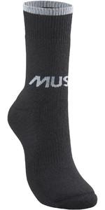 2021 Musto Mens Thermal Short Sock 86041 - Black