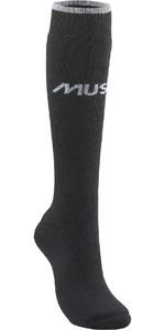 2021 Musto Mens Thermal Long Sock 86040 - Black