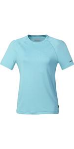 2021 Musto Womens Evo Sunblock Short Sleeve Tee 2.0  81161 - Blue Curacao