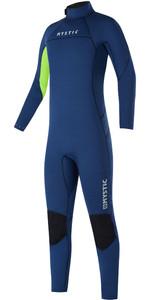 2021 Mystic Junior Star 3/2mm Back Zip Flatlock Wetsuit - Night Blue