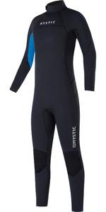 2021 Mystic Kids Star 3/2mm Back Zip Flatlock Wetsuit 35000.220044 - Black