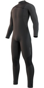 2021 Mystic Mens Majestic 4/3mm Chest Zip Wetsuit 35000.220003 - Black