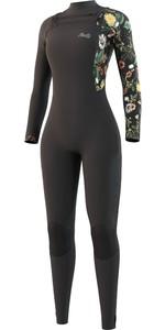 2021 Mystic Womens Jayde 4/3mm Double Chest Zip Wetsuit 35000.220017 - Black