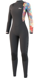 2021 Mystic Womens Jayde 5/4mm Double Chest Zip Wetsuit 35000.220016 - Dark Grey