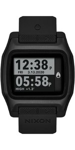2021 Nixon High Tide Surf Watch 001-00 - All Black