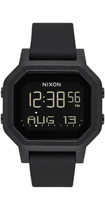 2021 Nixon Siren Surf Watch 100-00 - All Black