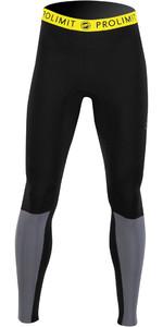 2021 Prolimit Mens Airmax 2mm Wetsuit SUP Trousers 14480 - Black / Dark Grey / Yellow