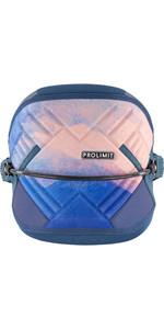 2021 Prolimit Womens Edge Kite Waist Harness 01420 - Blue / Peach