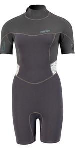 2021 Prolimit Womens Fire 2mm Shorty Wetsuit 15080 - Black / Ivory