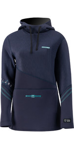 2021 Prolimit Womens Flare Wetsuit Hoodie 05056 - Navy / Turquoise