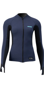 2021 Prolimit Womens Quick Dry Long Sleeve SUP Top 14700 - Slate / Black