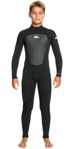 2021 Quiksilver Boys Prologue 4/3mm Back Zip Wetsuit EQBW103075 - Black