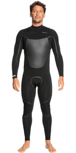 2021 Quiksilver Mens Marathon Sessions 4/3mm Chest Zip GBS Wetsuit EQYW103116 - Black
