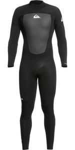 2021 Quiksilver Mens Prologue 4/3mm Back Zip GBS Wetsuit EQYW103133 - Black