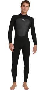 2021 Quiksilver Mens Prologue 5/4/3mm Back Zip GBS Wetsuit EQYW103132 - Black