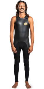 2021 Quiksilver Mens Sessions 2mm Long John Wetsuit EQYW703002 - Black