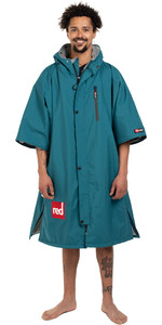 2021 Red Paddle Co Mens Short Sleeve Pro Change Jacket 002-009-006-0072 - Teal