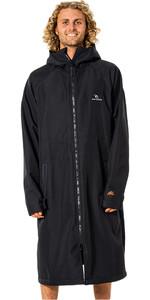 2021 Rip Curl Anti Series Hooded Pncho / Change Robe CTWBA9 - Black