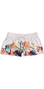 2021 Roxy Womens Catch A Wave Board Shorts ERJBS03154 - Peach Blush / Bright Skies
