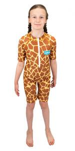 2021 Saltskin Junior Sun Suit STSKNGRFF03 - Giraffe