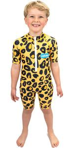 2021 Saltskin Junior Sun Suit STSKNLEOPD03 - Leopard