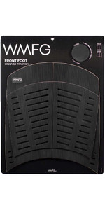 2021 WMFG Front Foot Grooved Traction 3.0 Kiteboard Deckpad WMTR3F - Black