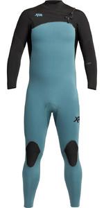 2021 Xcel Mens Comp 3/2mm Wetsuit MN32ZXC0T - Tinfoil / Black