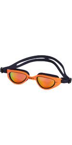 2021 Zone3 Attack Triathlon Goggles SA19GOGAT - Orange / Navy
