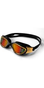 2021 Zone3 Vapour Triathlon Goggles SA18GOGVA - Black / Gold