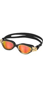 2021 Zone3 Venator-X Triathlon Goggles SA21GOGVE - Black / Gold