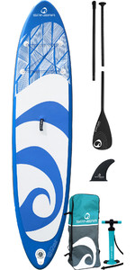2021 Spinera SupVenture 12'0 Inflatable Stand Up Paddle Board, Bag, Pump & Paddle - Blue