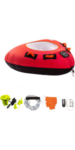 2020 Jobe Thunder 1 Person Towable Package 238820002 - Red