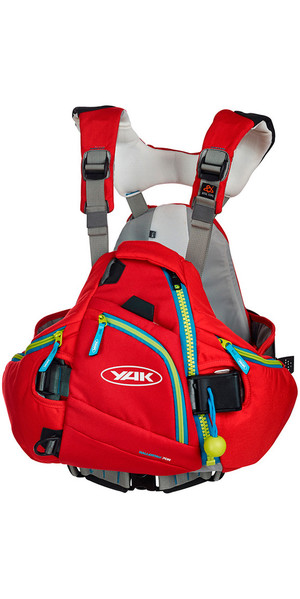 2018 Yak Hallertau Kayak 70N Whitewater Buoyancy Aid - Red 2705