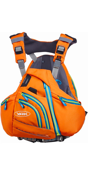 Yak Greenburg 70N Touring Canoe / Kayak Buoyancy Aid Orange 2747