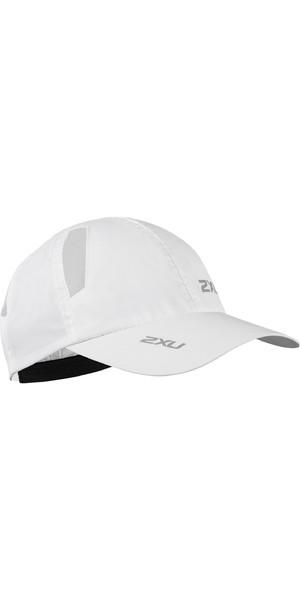2019 2XU Run Cap White UQ5685f