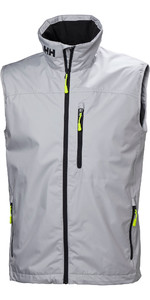 2020 Helly Hansen Mens Crew Vest Grey Fog 30270