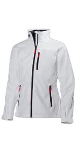 2019 Helly Hansen Womens Crew Jacket White 30297